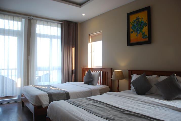 Balcony sea view with 2 beds - Da Nang - Flat