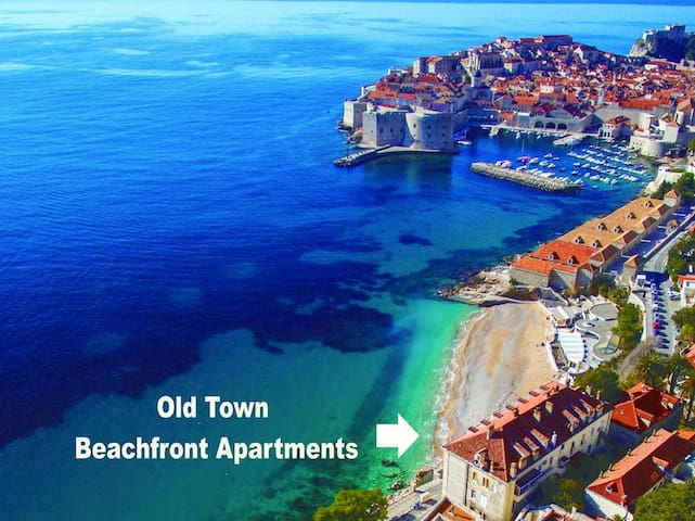 ❤ Beachfront ★ On the Main Gate to the Old City ★