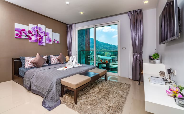 Spacious & Well Equipped Studio @Patong, 52 sq.m.