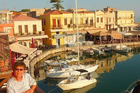 Suite with Harbour View - Rethymno