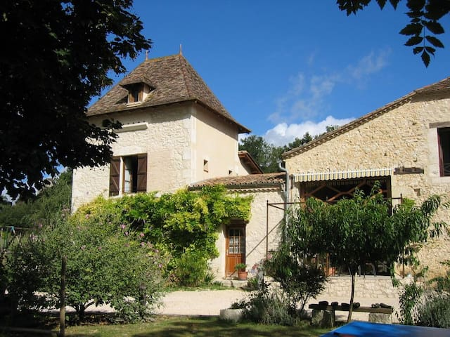 Farmhouse Cottage and Private Pool in the Dordogne - Eymet - Hus