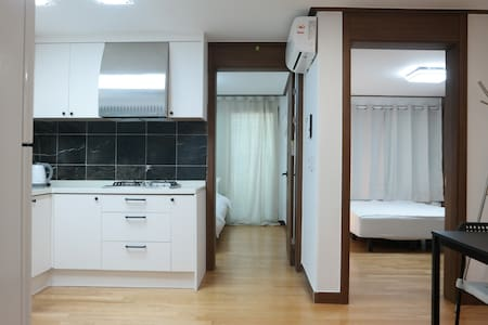 #3★Bucheon/4ppl only 50USD(2rooms)★/