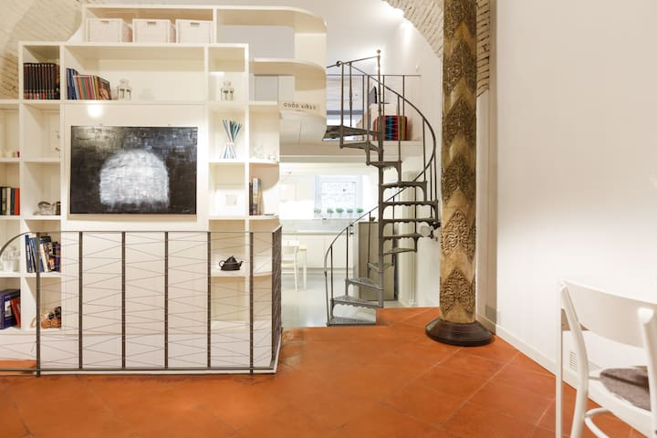 Style and Comfort in Trastevere - Rome - Loft