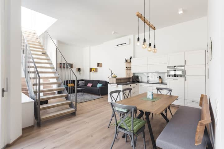 Brand New Loftappartment with Rooftop Terrace