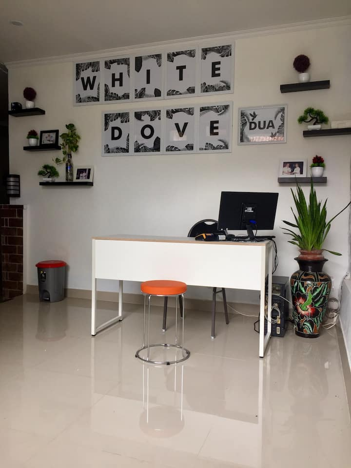 white dove guest house 2 canggu lengkap