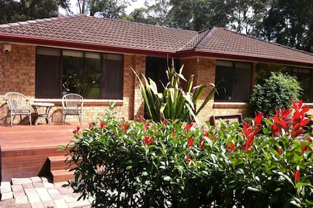 Leafy location close to Jervis Bay - Woollamia - Huis
