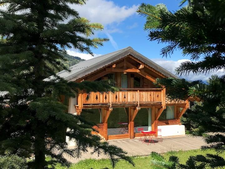 Grand Chalet Savoyard Proche Chamonix