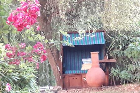 Gartenoase am Ahsestrand    Zimmer mit Kamin/Sauna
