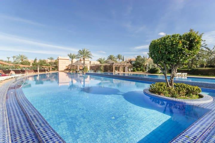 Villa 3 rooms in the heart of Palmeraie Marrakech