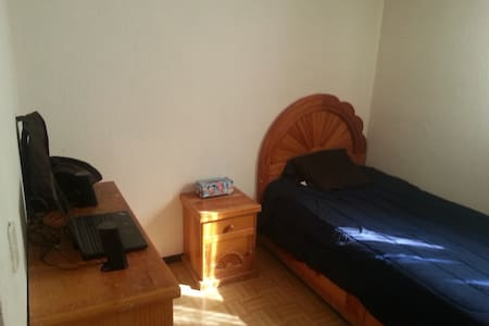 Private Room near UNAM and coyoacán in the South - Ciudad de México - Appartement