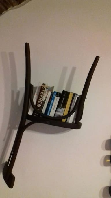 clothes hangers/library