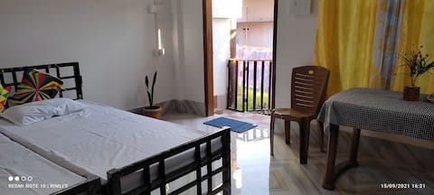 Brand new 2 rooms in a very homely environment at Tezpur