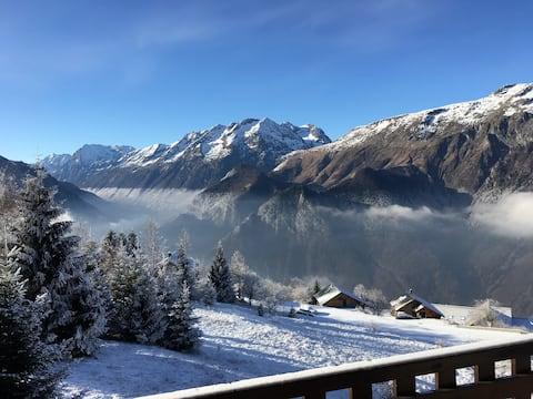 EXCELLENT ski apartment on the pistes