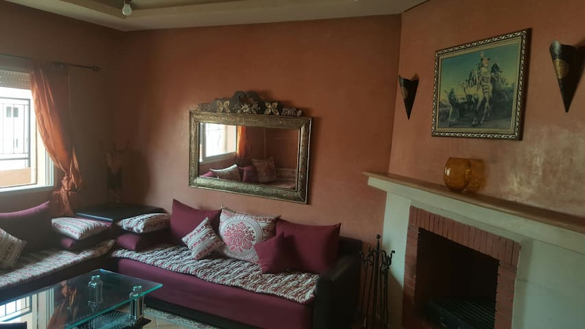 Bel appartement au centre! Terrasse + 2 piscines - Marrakesch - Wohnung