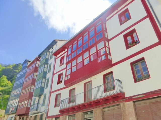 Apartamento en la costa vasca (EBI 251) - Elantxobe - Apartemen