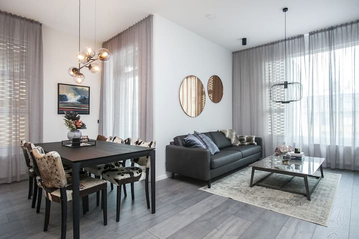 Brand New Luxury Downtown Suite