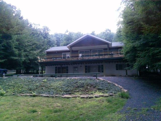 Lakefront cottage at Deep Creek Lake - dock - McHenry