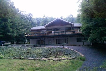 Lakefront cottage at Deep Creek Lake - dock - McHenry - Hus
