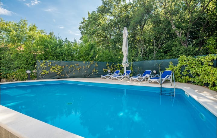 Amazing home in Kornic with Outdoor swimming pool, WiFi and 6 Bedrooms