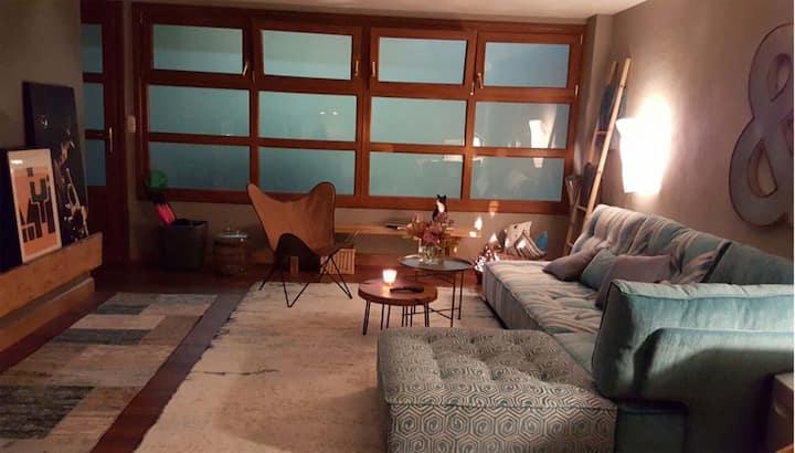 Open plan apartment near the center