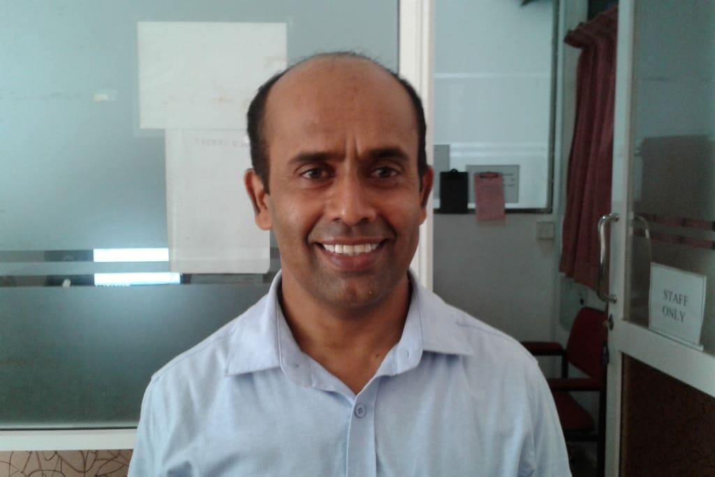 meet Ranjith, the managing director