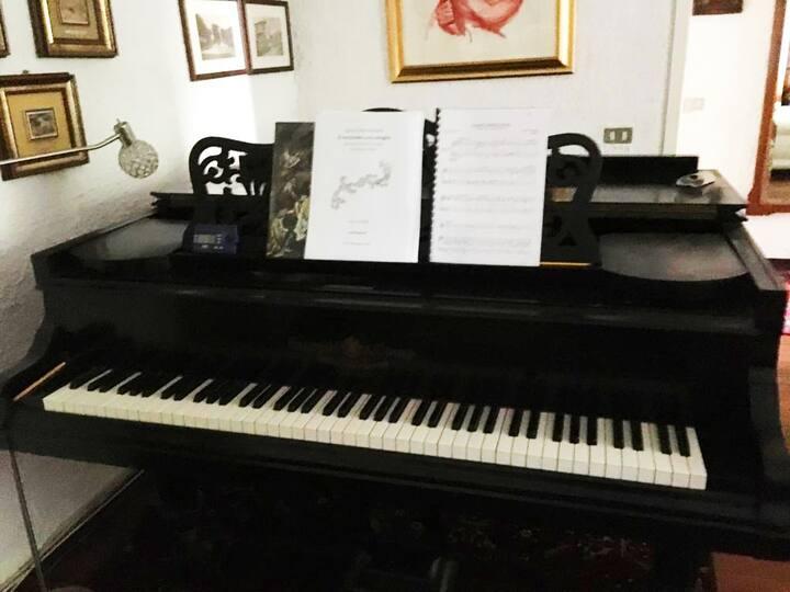 Tranquillo soggiorno in Villa! Anche per musicisti