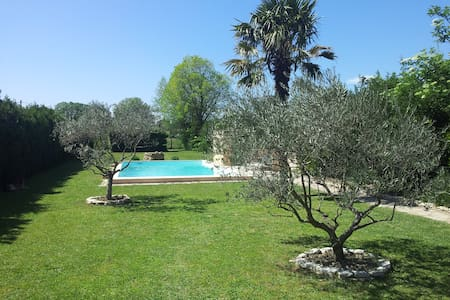 The olives trees, the pool, the sun - Apartament
