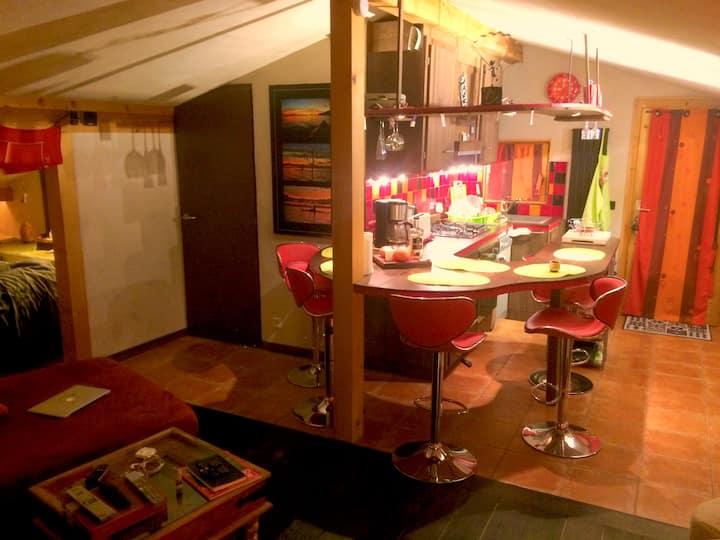 Loft de charme - Saint Gervais les Bains- 4 pers.