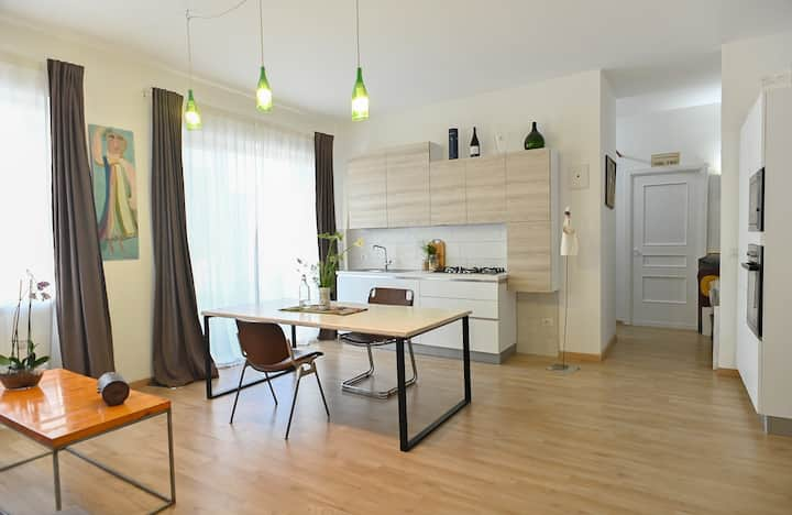 Bright and cool flat in Nardò