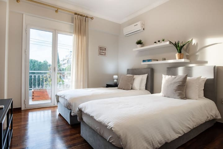 Twin Bedroom Four, Two Single Beds