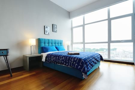Amazing 3BR Seaview near JB City with FREE WiFi - Johor Bahru