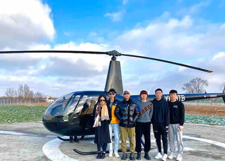 Belgrade Panorama Helicopter Taxi, groups up to 3