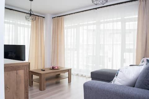 ⭐⭐⭐⭐⭐ Κεντρικό διαμέρισμα με δωρεάν ιδιωτικό χώρο στάθμευσης