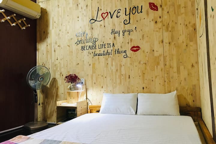 Private room without bathroom - Green Hill Hostel