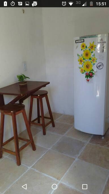 Mesinha na cozinha