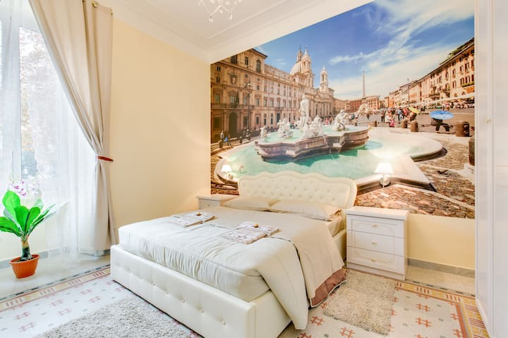 SUITE PIAZZA NAVONA  Near  Station Termini