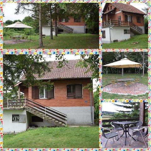Vikendica u Barajevu, priroda, mir i tišina