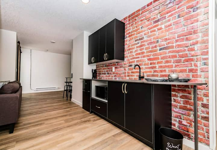 Newly Renovated Urban Style Suites
