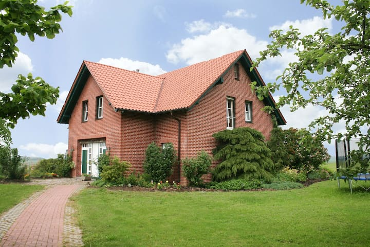 Comfortable, bright and spacious apartment in the countryside close to the Baltic Sea