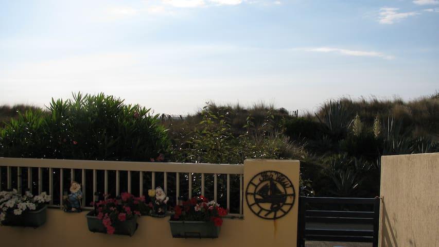 Studio bord de mer location à la semaine - Marseillan - Condominio