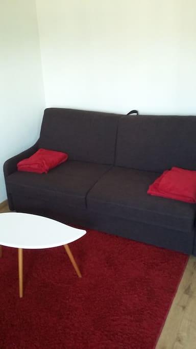Canapé Rapido, confort d'un vrai lit