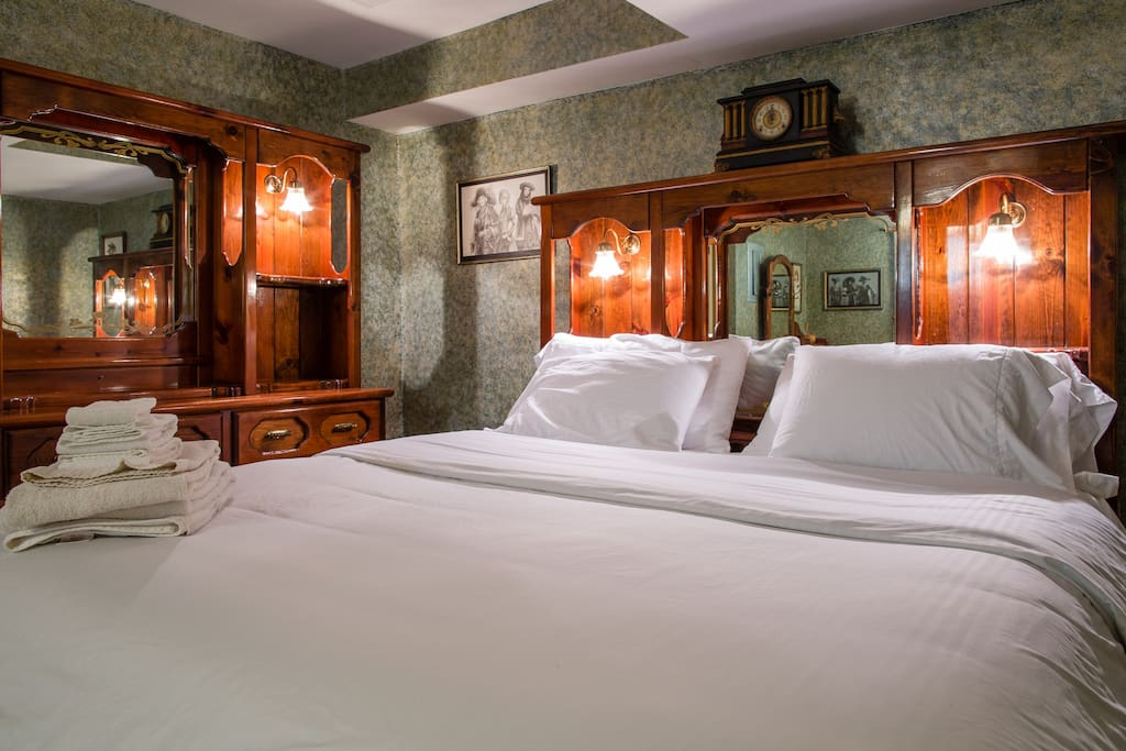 Verified photo by Victor. Thanks, Victor! A secluded bedroom with king bed and walk in closet