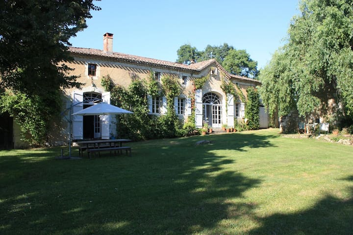Gascogny/Lectoure lovely  farmhouse with pool