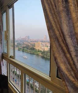 Small Studio 2 direct to the Nile, on the rooftop