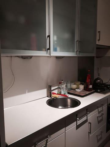 Ruime appartement voor max 2 pers