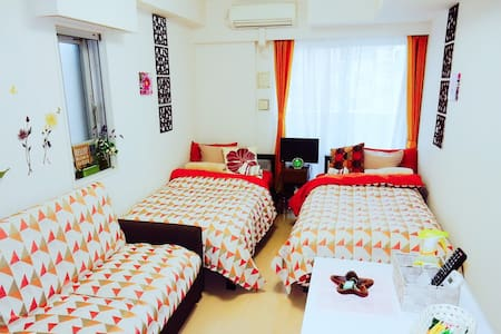 Clean&Cozy room. 1min-walk from the station - 台東区 - Appartement