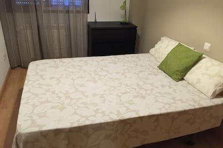 Habitacion luminosa cama grande - Arganda del Rey - Ev