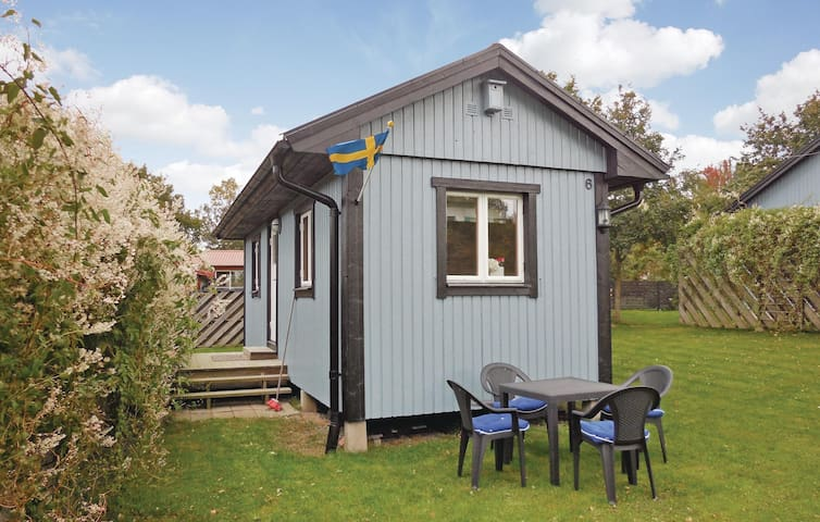 Holiday cottage with 1 bedroom on 20m² in Gäsrsnäs