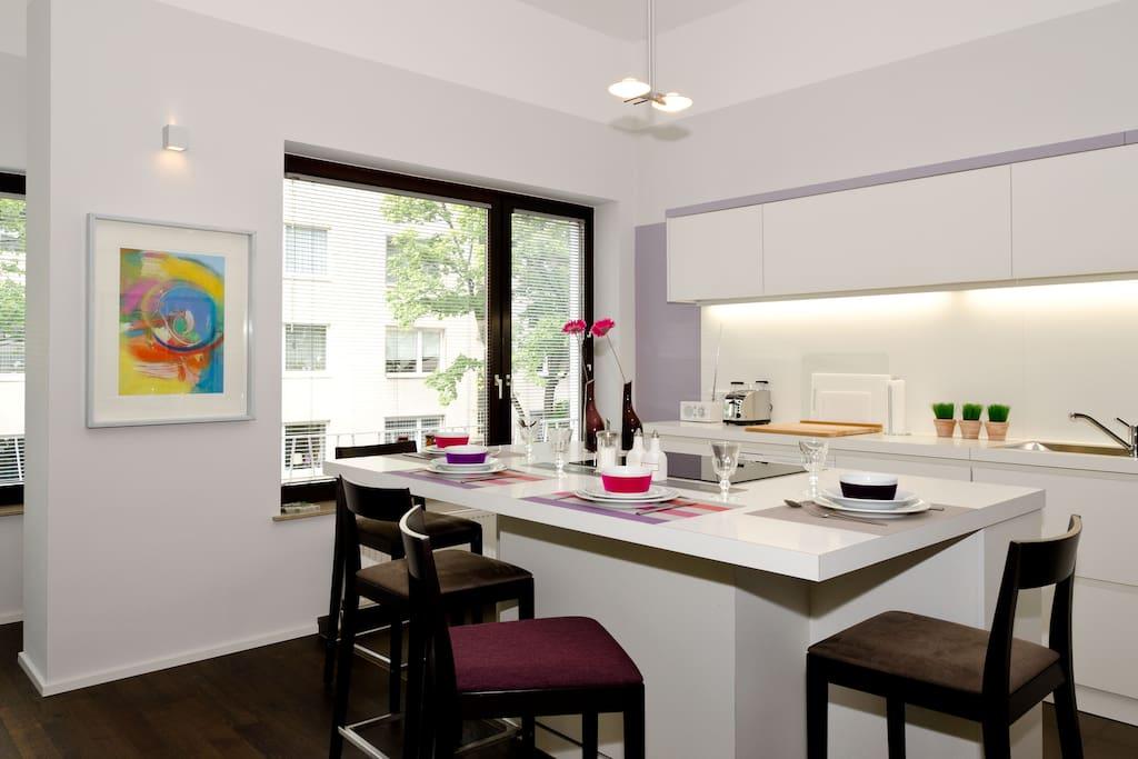 offene Küche - open Kitchen