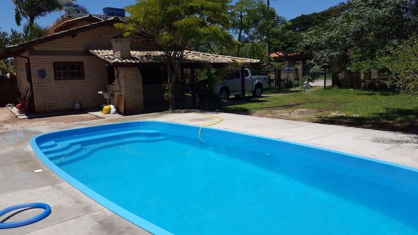 Casa Praia de Ibiraquera com Piscina